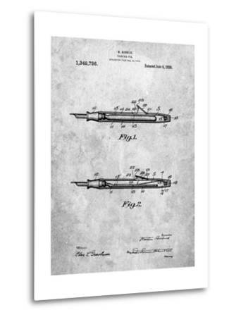 Houston Fountain Pen Company 1920 Patent-Cole Borders-Metal Print