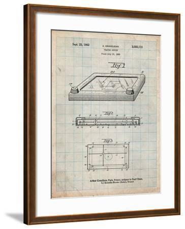 Etch a Sketch-Cole Borders-Framed Art Print