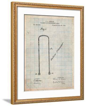 Edison Filament Art-Cole Borders-Framed Art Print