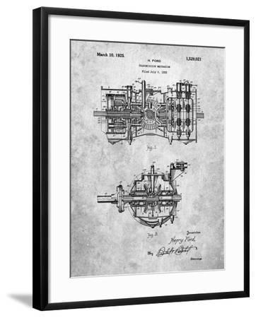Ford Transmission-Cole Borders-Framed Art Print