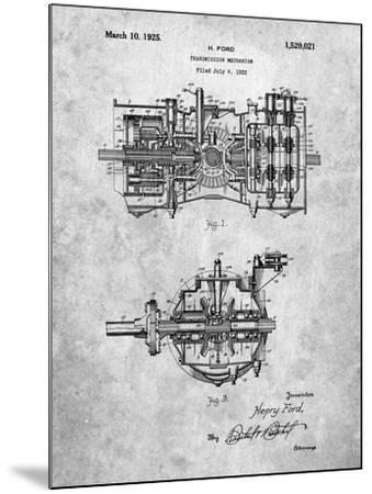 Ford Transmission-Cole Borders-Mounted Art Print