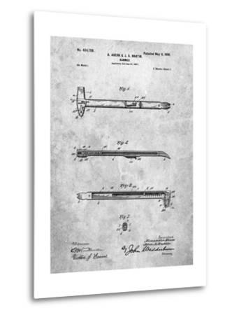 Vintage Claw Hammer Patent 1899-Cole Borders-Metal Print