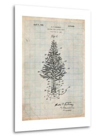 Christmas Tree-Cole Borders-Metal Print