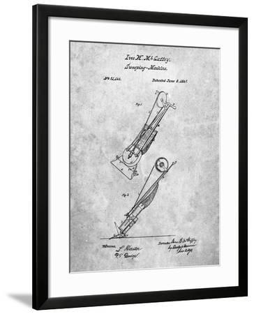 Vaccuum Cleaner Patent-Cole Borders-Framed Art Print