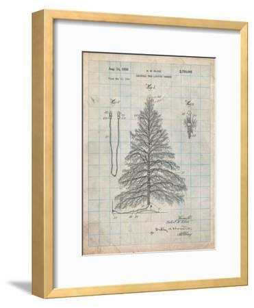 Christmas Tree-Cole Borders-Framed Art Print