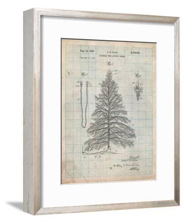 Christmas Tree-Cole Borders-Framed Premium Giclee Print