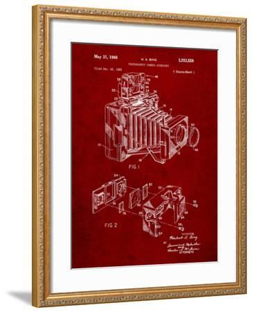 Photographic Camera Accessory Patent-Cole Borders-Framed Art Print