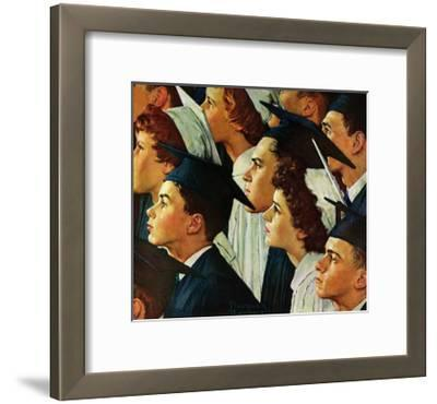 Bright Future Ahead-Norman Rockwell-Framed Giclee Print