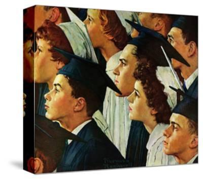 Bright Future Ahead-Norman Rockwell-Stretched Canvas Print