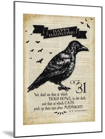 Raven-Stephanie Marrott-Mounted Giclee Print