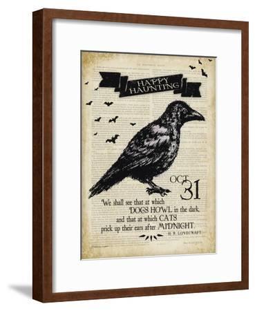 Raven-Stephanie Marrott-Framed Giclee Print