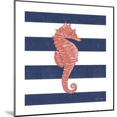 Seahorse Stripe-Stephanie Marrott-Mounted Giclee Print