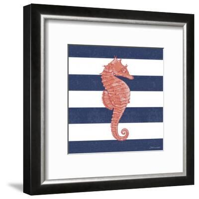 Seahorse Stripe-Stephanie Marrott-Framed Giclee Print
