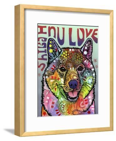 Shiba Inu Luv-Dean Russo-Framed Giclee Print