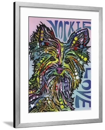 Yorkie Luv-Dean Russo-Framed Giclee Print