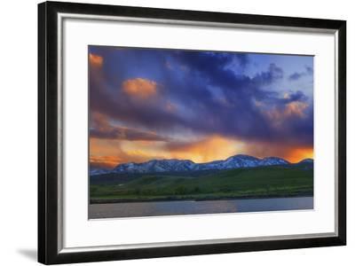 Front Range Light Show-Darren White Photography-Framed Photographic Print