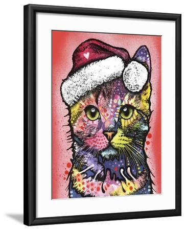 Christmas Cat-Dean Russo-Framed Giclee Print