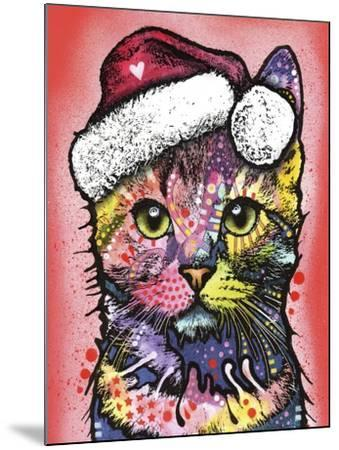Christmas Cat-Dean Russo-Mounted Giclee Print