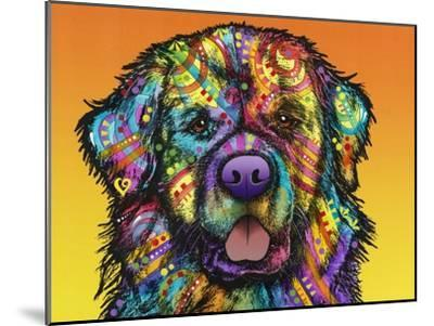 Newfie-Dean Russo-Mounted Giclee Print