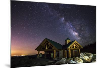 Mount Evans Visitor Cabin-Darren White Photography-Mounted Photographic Print