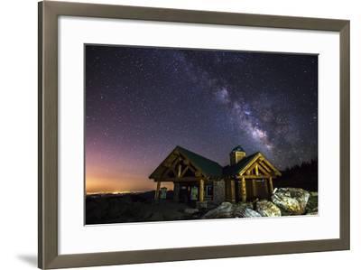 Mount Evans Visitor Cabin-Darren White Photography-Framed Photographic Print