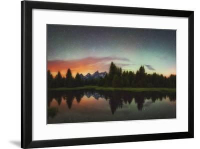 Schwabacher Heavens-Darren White Photography-Framed Photographic Print