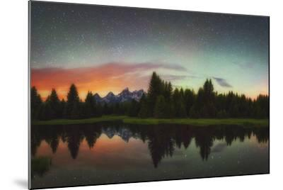 Schwabacher Heavens-Darren White Photography-Mounted Photographic Print