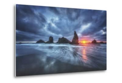 Moody Blues of Oregon-Darren White Photography-Metal Print