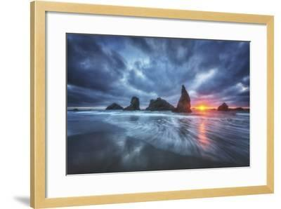 Moody Blues of Oregon-Darren White Photography-Framed Photographic Print