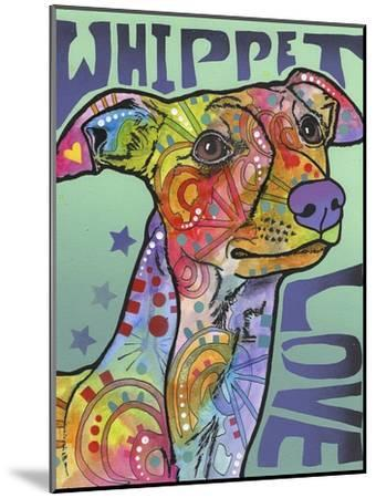 Whippet Love-Dean Russo-Mounted Giclee Print