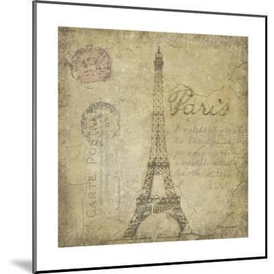 Paris-Stephanie Marrott-Mounted Giclee Print