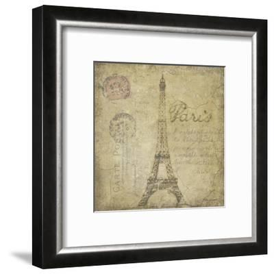Paris-Stephanie Marrott-Framed Giclee Print