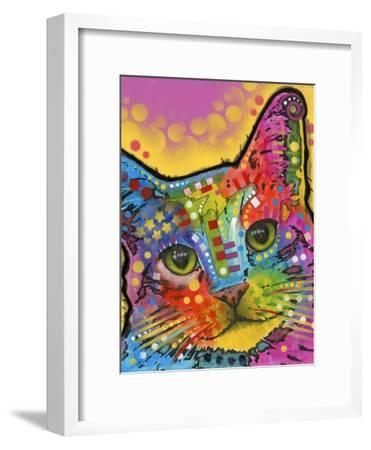Tilt Cat-Dean Russo-Framed Giclee Print