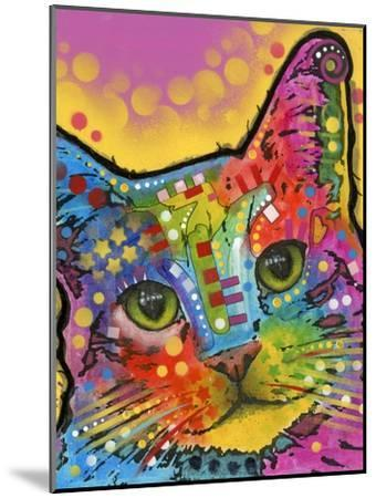 Tilt Cat-Dean Russo-Mounted Giclee Print
