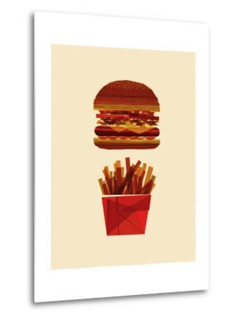 Burger and Fries-Greg Mably-Metal Print