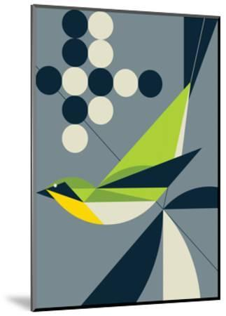 Warbler-Greg Mably-Mounted Art Print