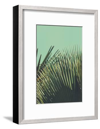Abstrac Tropical Vintage Background. Retro Toned.-sk901-Framed Art Print