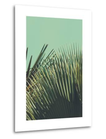 Abstrac Tropical Vintage Background. Retro Toned.-sk901-Metal Print