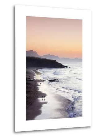 View from Playa Del Viejo to the Peninsula of Jandia-Markus Lange-Metal Print