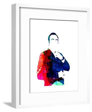 Frank Watercolor-Lora Feldman-Framed Art Print