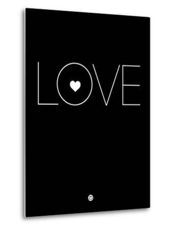 Love Black-NaxArt-Metal Print