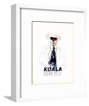Koalagerfeld-Mydeadpony-Framed Art Print