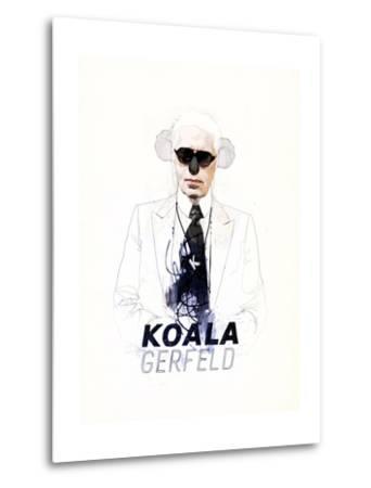Koalagerfeld-Mydeadpony-Metal Print