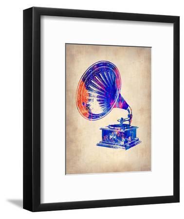 Gramophone 2-NaxArt-Framed Art Print