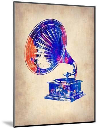 Gramophone 2-NaxArt-Mounted Art Print
