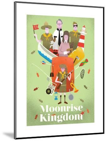 Moonrise Kingdom-Chris Wharton-Mounted Art Print