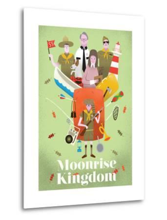 Moonrise Kingdom-Chris Wharton-Metal Print