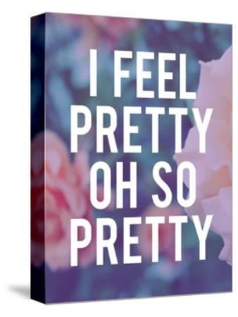 So Pretty-Leah Flores-Stretched Canvas Print