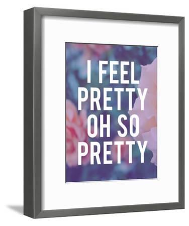 So Pretty-Leah Flores-Framed Art Print