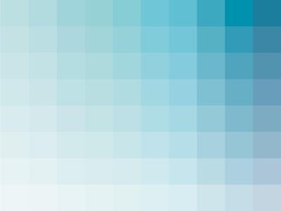 Aqua Rectangle Spectrum-Kindred Sol Collective-Art Print